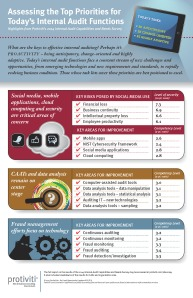 Infographic - 2014 Internal Audit Capabilities and Needs Survey