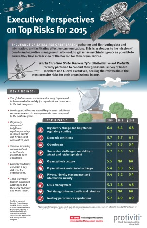 Infographic - 2015 Top Risks Survey